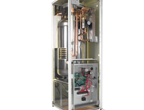 Kako deluje toplotna črpalka zrak-voda v deljeni izvedbi